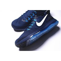 nike zoom all out low 3/4 Zoom Air Max Navy 878670-401