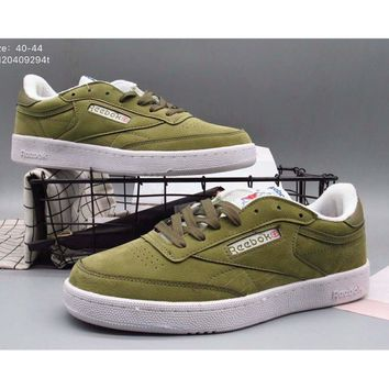 Reebok new wild fashion shoes tide shoes F-A36H-MY Green