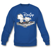 DJ Turntables Cartoon Hands sweatshirt