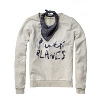 SWEAT WITH GRAPHIC PRINT - Women