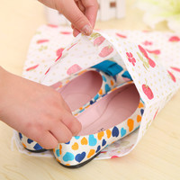 With Pocket Thicken Portable Print Storage Shoes = 4877806788