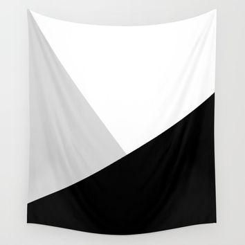 Monochromatic Wall Tapestry by ARTbyJWP