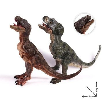 Action&Toy Figures Jurassic Tyrannosaurus Rex Baby Dragon Dinosaur PVC Toys Collection Model Plastic Doll Animal For Kids Gift