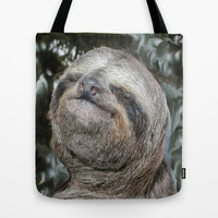 Sloth Tote Bag by Bruce Stanfield