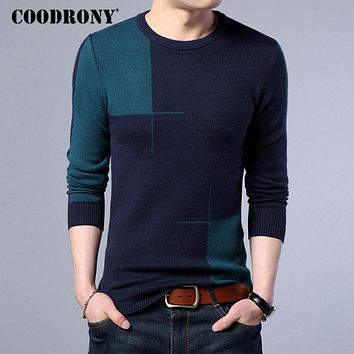 New Winter Thick Warm Cashmere Sweater Men Casual O Neck Pull Home Pullovers Men Wool Sweaters