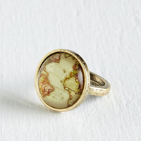 Travel One Atlas Hurrah Ring by ModCloth