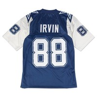 DCCKU62 Mitchell Ness Michael Irvin 1995 Authentic Jersey Dallas Cowboys In Blue