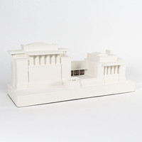 Frank Lloyd Wright Unity Temple Architectural Sculpture by C&M