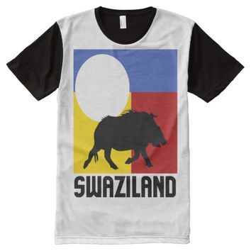 SWAZILAND (WARTHOG) All-Over-Print T-Shirt