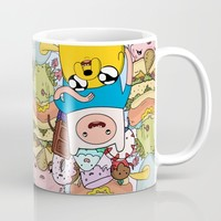 Adventure Time Mug by Laura O'Connor