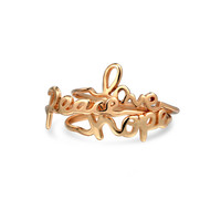 Bling Jewelry Hope 4 Love Ring Set
