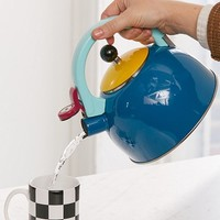 Colorblocked Tea Kettle | Urban Outfitters