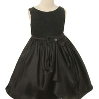 Rose Mary- Flower Girl Dress in Black