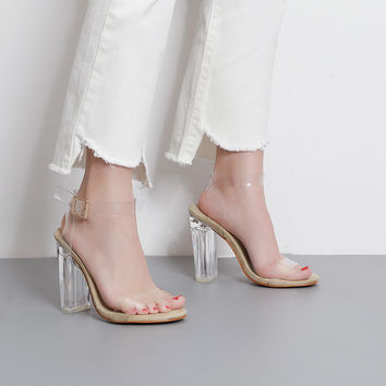 Melody Transparent Heels