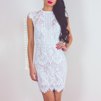 My Empire Lace Dress