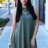 Olive Over You Tunic/Dress