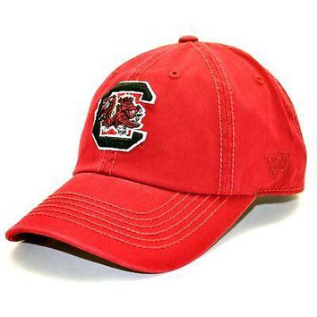 Licensed South Carolina Gamecocks Adult Adjustable Cotton Crew Hat Cap SC TOW 314877 KO_19_1