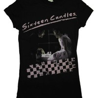 Sixteen Candles John Hughes 80s Movie Juniors Babydoll T-Shirt Tee