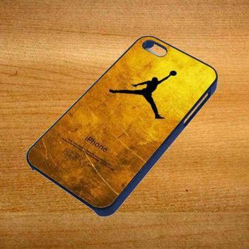 VONR3I michael jordan golden gold pattern For iPhone 4 / 4S Case *76*