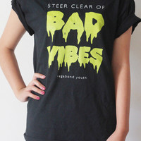 BAD VIBES Graphic T | Vagabond Youth