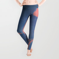 Don't give Yourself away Leggings by DuckyB