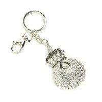 Crystal Money Bag Keychain