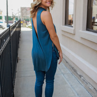 Bewildered Top - Teal
