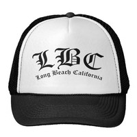 LBC Long Beach California Trucker Hat