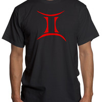 Gemini 2 Red Astrological Sign