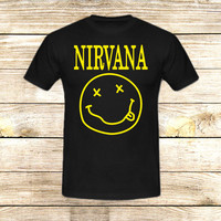 Nirvana Logo on T shirt