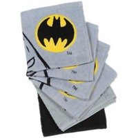 Batman Logo 6-Pack Wash Cloth Set - Walmart.com
