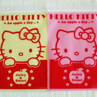 Pack of 10 Poly / Cello Ziplock Bags  Hello Kitty by charmstore