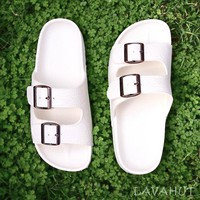 White Buckle™ - Pali Hawaii Sandals