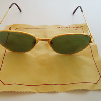 Authentic Vintage Cartier Mens SunGlasses