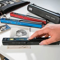 Magic Wand Portable Scanner with Carrying Case & SD Card