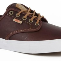 Vans Chima Ferguson Pro Shoes Leather (Mahogany) Shoes Mens Shoes at 7TWENTY Boardshop, Inc