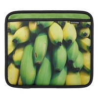 Yellow and Green Bananas Photography Sleeve For iPads