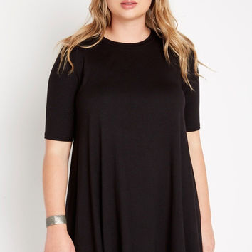 Everyday Casual Trapeze Dress Plus Size