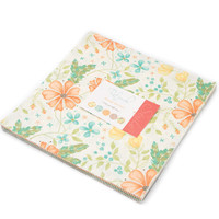 "Refresh Layer Cake by Sandy Gervais for Moda Fabrics, 10"" Squares"