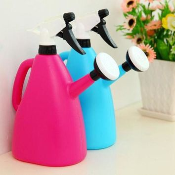 ONETOW Watering Cans For Garden Planting Flowers Spray Water  Pots (Volume 1.2L)