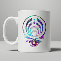 Bassnectar Galaxy Skull Head Mug, Tea Mug, Coffee Mug