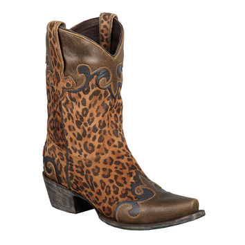 Lane Boots - Dakota Cheetah/Brown