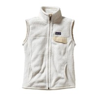 Patagonia Women's Re-Tool Fleece Vest | Tailored Grey - Nickel X-Dye w/Tobago Blue