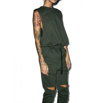 Industry City Jumpsuit | Dolls Kill
