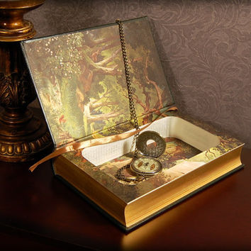 Hollow Book Safe (Grimm's Complete Fairy Tales Leatherbound)