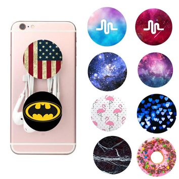 Finger Holder Phones Accessories Mobile Phone Case for Coque IPhone 8 7 Plus 6 S 5 FOR huawei Mate10 P20 Lite P Smart Back Cover