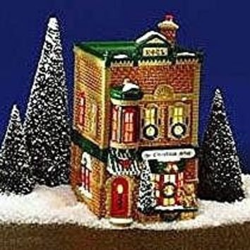 Original Department 56 Snow Village The Christmas Shop