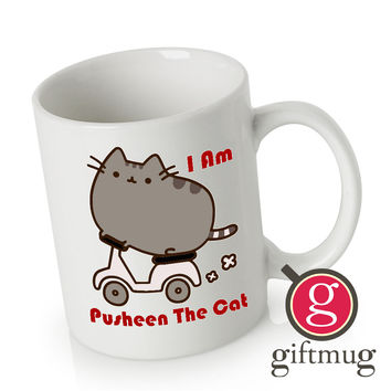 Parody Pusheen The Cat Funny Ceramic Coffee Mugs