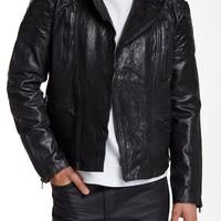 On HauteLook: Kenneth Cole New York | Genuine Leather Moto Jacket