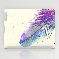 *** Feather Splash ***  iPad Case by M✿nika  Strigel
